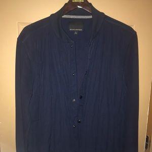 Banana republic lightweight blue jacket